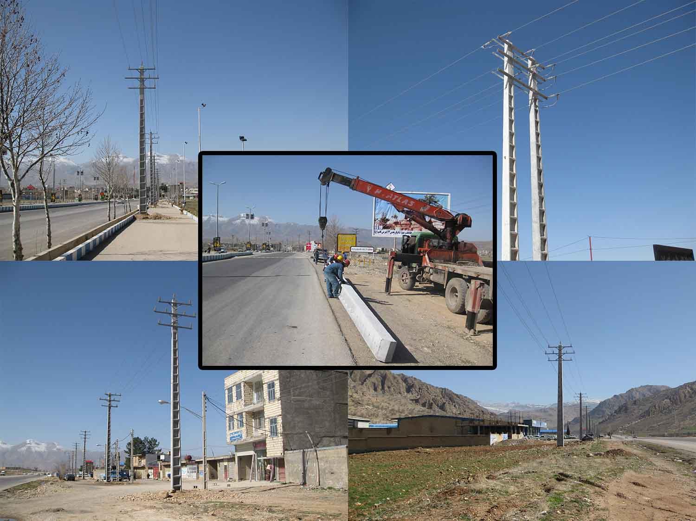 گزارش عملكرد امور برق شهرستان لردگان در سال 95