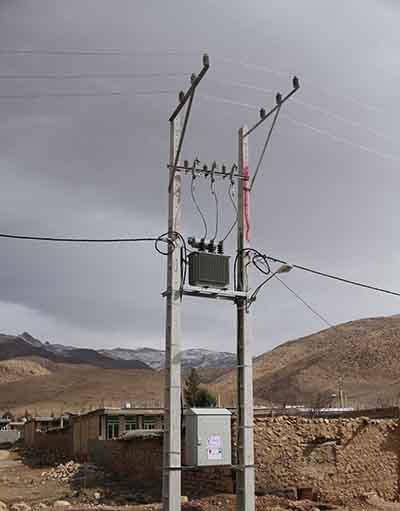 21 كيلومتر از شبكه هاي برق رساني مسي شهرستان كوهرنگ به كابل خودنگهدار تبديل شد